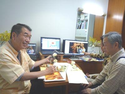 横浜市中区の歯科・歯医者 横浜山手デンタルクリニックのカウンセリングの様子