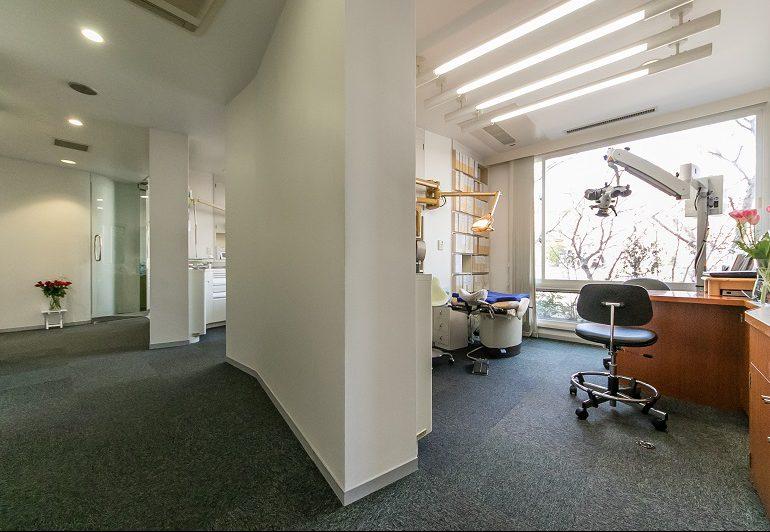 横浜の歯科・歯医者 横浜山手デンタルクリニックの診療室