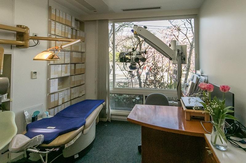 横浜市中区の歯科・歯医者 横浜山手デンタルクリニック(横浜山手歯科医院)の診療室
